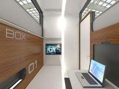 Des cabines de sommeil futuristes bientôt dans notre quotidien