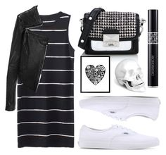 """""""Riley"""" by goingdigi ❤ liked on Polyvore featuring Vans, Karl Lagerfeld, Christian Dior, Linea Pelle and L'Objet"""