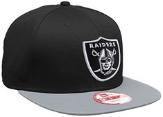 5ea7fb033c7 New Era Unisex Baseball Cap Mütze NFL 9 Fifty Block Oakland Raiders  Snapback Erwachsene