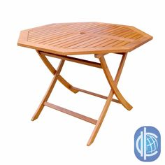 Give your patio a more contemporary look with this hardwood octagonal table. Made from beautiful yellow balau hardwood with a light teak-oil finish, this table looks great and offers a place to relax and entertain guests during your next outdoor event.