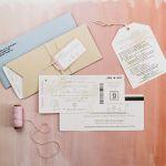 Destination Wedding Invites, Lancaster Weddings {Queen Bee Paperie}