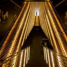 Matadero Madrid dazzles theater patrons with fantastic use of LED tubes.