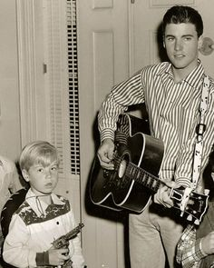 With Ricky Nelson