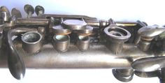 Metal clarinet Ab - detail (H. Selmer 1931)