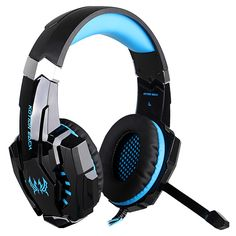 KOTION EACH G9000 Gaming Headphone 3.5mm USB With Microphone Dazzle Light Glow Game Music Headset Best PC Gamer casque for PS4  #phone #red #green #square #shark #case #new #apparel #clothe #quartz