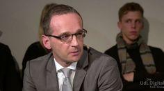 Ministro añemán de Justicia Maas- conferencia sobre antisemitismo en Jerusalem