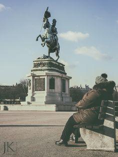 Streetfotografie - Wien im Winter   #Streetphotography #Wien #Vienna