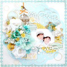 Lovely - Scrapbook.com Prima - Lady Bird Collection