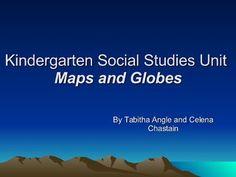 Kindergarten Map and Globes Unit