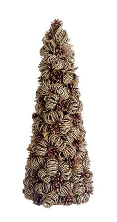 2' Pre-Lit Vienna Twig Artificial Christmas Tree in Burlap Base ...