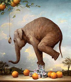 Картины слона Кевина Слоана