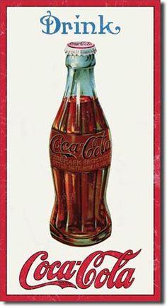 Coke 1915 Bottle Tin Sign, $8.95