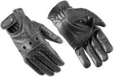 River Road Street Riding Gear Swindler Distressed Women's Leather Gloves