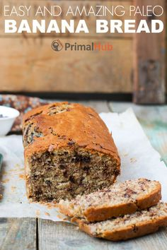 If you're going bananas for vegan banana bread dishes, this is the excellent article for you!It includes 15 remarkable vegan banana bread recipes in additi Paleo Dessert, Köstliche Desserts, Delicious Desserts, Dessert Recipes, Brunch Recipes, Paleo Banana Bread, Banana Bread Recipes, Paleo Bread, Bread Dishes