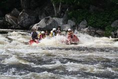Become a Maine Rafting Guide at #NortheastWhitewater rafting Maine.  #maineraftguides