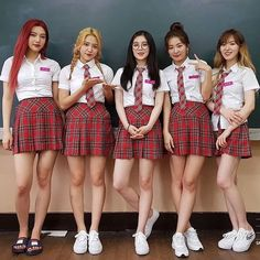 (Joy, Yeri, Irene, Seulgi and Wendy) Wendy Red Velvet, Red Velvet Joy, Red Velvet Irene, Black Velvet, Kpop Girl Groups, Korean Girl Groups, Kpop Girls, Asian Music Awards, Kang Seulgi