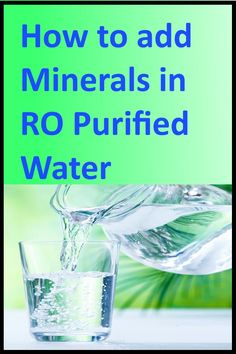 30f6470bf5d how to add minerals to ro purified water