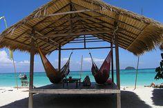 All one needs at the beach... but a Corona beer might be nice. Island Ko Lipe