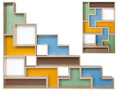 Tetris Shelves 4   How Cool Would These Be? | Home | Pinterest | Spare  Room, Book Shelves And Game Rooms