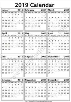 day calendar 2019 sri lanka