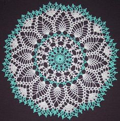 crochet doilies - vintage pattern- had many of my grandmothers