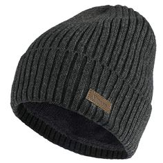 53a966d6313bd6 Possible beanie option for Pappi? I like that it's long and has a wool  lining, so it's extra warm. :)