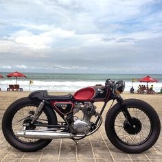 Honda 125 Cafe Brat | Slick | Clean | Wishing there was a zero after 125