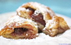 Strawberry Filled Crescent Rolls - with only three ingredients, so easy and delicious!