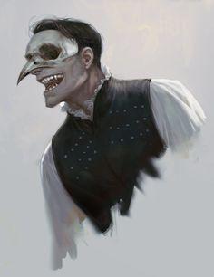Birdman, Alle Page Character Design Inspiration, Fantasy Character Design, Fantasy Inspiration, Character Art, Dnd Characters, Fantasy Characters, Dark Fantasy Art, Dark Art, Vampire Art