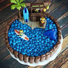 Afbeeldingsresultaat voor minion in swimmingpool cakes