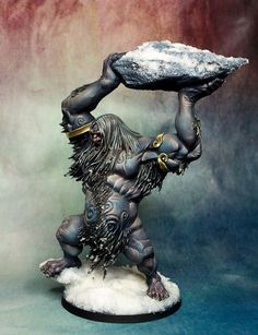 A Mighty Frost Giant Stomps Into Blood Rage Fully Painted!
