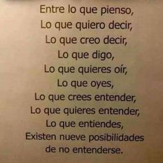 Imagen de frases, understanding, and love Best Quotes, Funny Quotes, Life Quotes, Quotable Quotes, Amazing Quotes, Little Bit, More Than Words, Spanish Quotes, Food For Thought