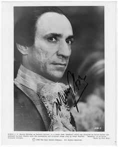 "Abraham, Murray F. - Signed Photo as Salieri in ""Amadeus"""