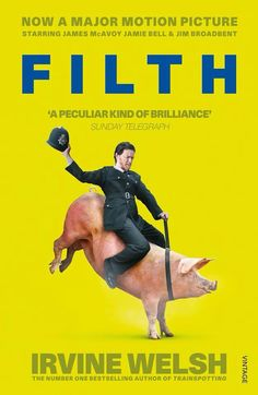 Filth (2013) starring James MacAvoy and based on the book by Irvine Welsh. Funny, disturbing and heartbreaking.