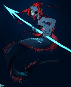 Mermaid Undyne Undertale
