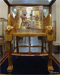 Throne, Tutankamon