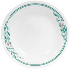 Corelle Livingware 6-3/4-Inch Bread and Butter Plate, Rosemarie by Corelle. $16.62. Stackability for cupboard space efficiency. Microwave and oven use for versatility. Coordinate with popular corelle dinnerware patterns. Break and chip resistance for carefree durability. Dishwasher safe for long lasting patterns. Corelle Livingware 6-3/4-inch Bread and Butter Plate, Rosemarie