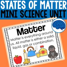 Introduce matter to