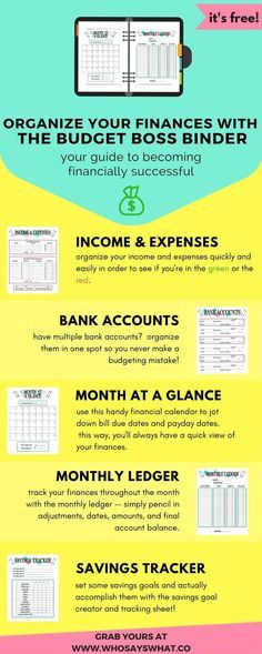 FREE Financial Planning Printables Financial Planning, Budgeting
