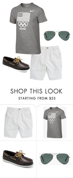Boys Preppy 25 by tobyla on Polyvore featuring NIKE, Sperry, J.Crew, mens fashion, menswear, RayBans, vineyardvines, sperry, rio and teenboys