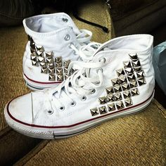 Studded High Top Converse... Want