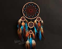 Mascotas American Dream Catcher atrapasueños por ElizaDreamCatchers