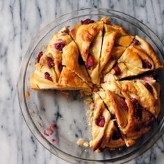 Almond Raspberry Breakfast Twist Bread {recipe}