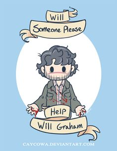 Will Graham  Will someone please help Will Graham by caycowa.deviantart.com on @deviantART