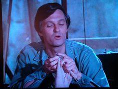 Hawkeye knitting on M*A*S*H Zippertravel.com Digital Edition