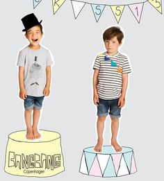 BANGBANG Copenhagen for spring 2013 kids fashion, represented in the UK by Cherry Pick for Kids