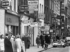 Carnaby Street. Swinging London, 1960s