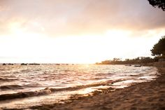 Stock Photo : sunset basin of Arcachon