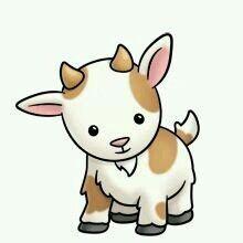 Goat Jednoduché Kresby, Kůzlata, Kozy, Pěkné Kresby