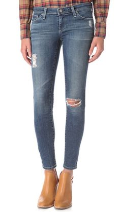 @A g Jeans  Super Skinny Ankle Leggings - my latest obsession from @Calypso St. Barth